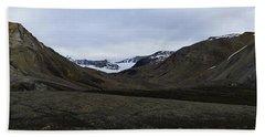 Arctic Mountain Landscape Beach Towel