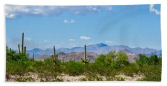Arizona Desert Hidden Valley Beach Towel
