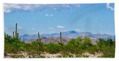 Arizona Desert Hidden Valley Beach Sheet
