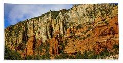 Beach Towel featuring the photograph Arizona Morning by Jon Burch Photography