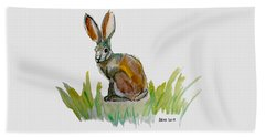 Arogs Rabbit Beach Towel