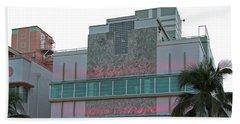 Art Deco - South Beach - Miami Beach Beach Towel