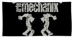 arteMECHANIX COLLECTIVE GRUNGE Beach Towel