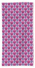 Pretty Pink Triceratops Beach Sheet