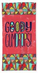 Goody Gumdrops Beach Towel