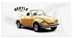 Vw Beetle 1972 Beach Towel