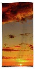 As The Sun Touches Beach Sheet