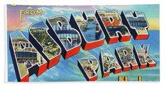 Asbury Park Greetings Beach Sheet