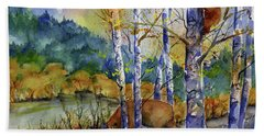 Aspen Bears At Emmigrant Gap Beach Towel