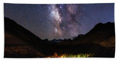 Aspen Nights Beach Towel