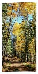 Aspen Trail Beach Towel