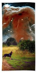 Beach Towel featuring the photograph Aspiring Lunar Rover Outer Space Image by Bill Swartwout Fine Art Photography