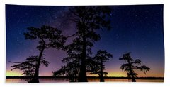 Atchafalaya Basin Under The Miky Way Beach Towel