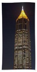 Atlanta, Georgia - Bank Of America Building Beach Towel