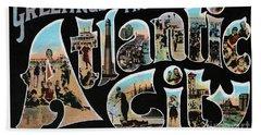 Atlantic City Greetings #1 Beach Sheet