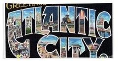Atlantic City Greetings #2 Beach Sheet