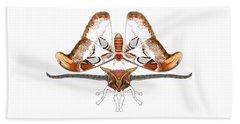 Atlas Moth2 Beach Towel