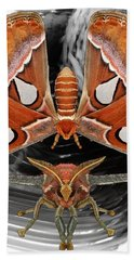 Atlas Moth8 Beach Towel