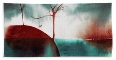 Atmospheric Day Beach Towel