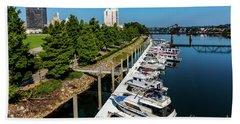 Augusta Ga - Savannah River Beach Towel
