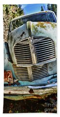 Austin A40 Beach Towel