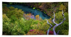 Autumn At Ha Ha Tonka State Park Beach Towel