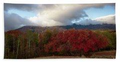 Autumn Foothills Beach Towel