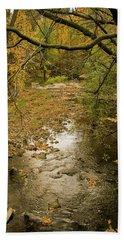 Autumn Forest Beach Towel