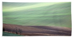 Beach Towel featuring the photograph Autumn In Moravia 4 by Dubi Roman
