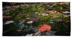 Autumn Leaf Beach Sheet