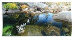 Autumn Liquid Dreamscape Beach Sheet