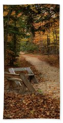 Autumn Meetup Beach Towel