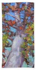 Autumn Oak Beach Sheet