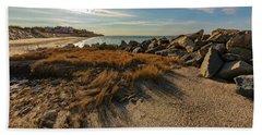 Autumn Rays Over Cape Cod Beach Sheet