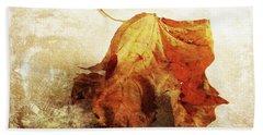 Beach Towel featuring the photograph Autumn Texture by Randi Grace Nilsberg