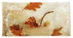 Beach Towel featuring the photograph Autumn Twist by Randi Grace Nilsberg