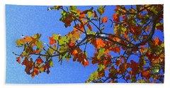 Autumn's Colors Beach Towel