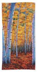 Autumn's Dreams Beach Towel