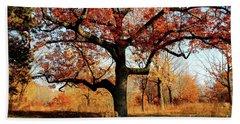 Autumns Paint Brush Beach Towel