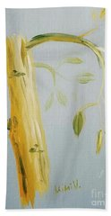 Avocado Tree  Beach Towel