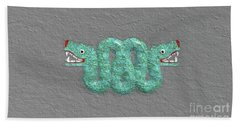Aztec Serpent Beach Towel
