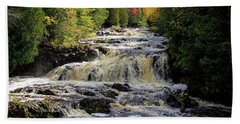Bad River Cascade Beach Towel