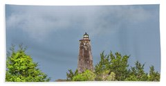 Bald Head Island Lighthouse Beach Towel