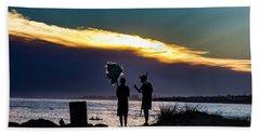 Baloon Seller Beach Towel