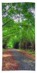 Bamboo Cathedral 2 Beach Towel