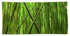 Bamboo X Beach Towel