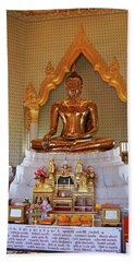 Bangkok, Thailand - Golden Buddha Beach Sheet