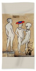 Banksy Paris Winner Take All Beach Towel