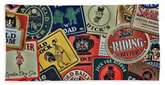 Bar Coasters For The Man Cave Beach Towel
