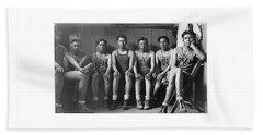Basketball Team 1940 Beach Towel